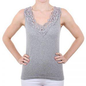 Mesdames shirt avec de la dentelle (chemise, Haut, Vest) n ° 57/2 de la marque FTSD - FindTheSecretDreams image 0 produit