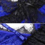 Modfine Robe de Nuit Femme Deshabillé Sexy Lingerie en Dentelle Nuisette Babydoll de la marque Modfine image 4 produit