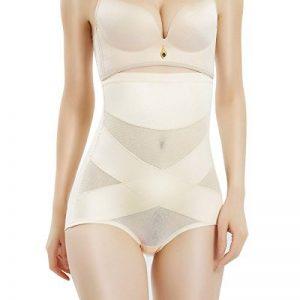 MOVWIN Femme Culotte Sculptante Cullotte Gainante Invisible Panty Minceur Body Shaper Taille Haute Ventre Plat Shapewear de la marque MOVWIN image 0 produit