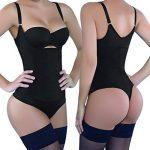 NINGMI Femmes Underbust Amincissants Bodysuit De Contrôle Combinaison à Buste Ouvert Corsets Ajustable Conjoined Shapewear de la marque NINGMI image 1 produit