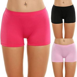 Onbay Culottes Invisible Sous-vêtements Féminins Sans Couture Slips Shorties Trois Couleurs (Lot de 3) de la marque Onbay image 0 produit