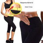 OUSPOTS Femmes Sport Minceur Capris Chaud en néoprène Pantalon Sauna Sweat Body Shapers Fitness de la marque OUSPOTS image 4 produit