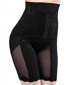 PERISLIM Culotte Sculptante Femme Slip Gainante à Taille Haute Lingerie Amincissante pour Ventre Plat Invisible Slim Shapewear Elastique Taille 34-48 - Noir/Beige de la marque PERISLIM image 0 produit