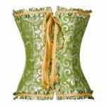 PhilaeEC Femmes Grande Taille Lingerie de Mariée Lacer Satin Désossé Corset + G-String de la marque PhilaeEC image 2 produit