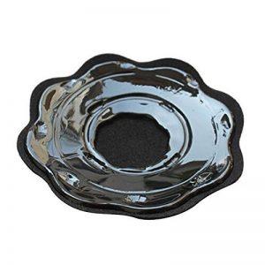 Pétale Form Réutilisable Soutien-gorge Auto Adhésif Cache Tétons Silicone Soutien Gorge 4 Paires Noir de la marque Haifly image 0 produit