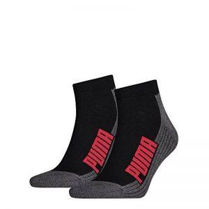 Puma Cushioned Quarter 2P–anatomique unisexe 2 paires de chaussettes de la marque Puma image 0 produit