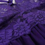 Scallop Femme Nuisette Col V Ouverte Bretelles Dos Nu Dentelle Transparent String 2PCS de la marque Scallop image 4 produit
