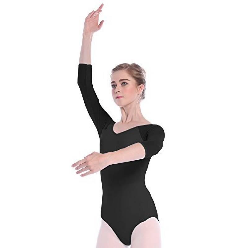 Skyrocket Justaucorps de Danse Filles Classique leotard manches 3 4 Ballet  Vêtements de Danse et Gymnastique de la marque Skyrocket Flyling 1c118d0a5bc