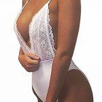 StyleDome Femme Body Dentelles Crochet Sandales Dos Nu Halter Combishort Jumpsuit de Plage de la marque StyleDome image 1 produit