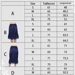 Timormode Souple Jupon Femme Mini-Cheville Jupon Sous Jupe Slip Taille élastiquée Jupon Stretch Fit Pour Mesdames Avec Bordure en Dentelle de la marque Timormode image 2 produit