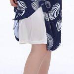 Timormode Souple Jupon Femme Mini-Cheville Jupon Sous Jupe Slip Taille élastiquée Jupon Stretch Fit Pour Mesdames Avec Bordure en Dentelle de la marque Timormode image 4 produit