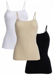 UnsichtBra Femme Basics Lot de 3 Caraco Maillot De Corps de la marque UnsichtBra image 0 produit