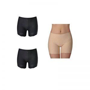 Vertvie Femme Sous-vêtement Boxer Slip Culotte de Sécurité Invisible Soie Glacée Shorties Seamless Doux pour Robe Jupe de la marque Vertvie image 0 produit
