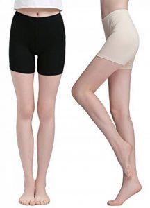 Vinconie Femme Court Leggings Mince Pantalon Yoga Shorts Sous-Vêtements 2 Pack de la marque Vinconie image 0 produit