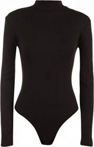 WearAll - Justaucorps à manches longues avec un col roulé - Hauts - Femmes - Tailles 36 à 42 de la marque WearAll image 0 produit