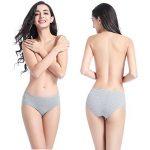 Wirarpa Culottes Femmes Taille Basse Shorty Femme Coton Slip Féminin Lot de 4 de la marque Wirarpa image 1 produit