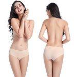 Wirarpa Culottes Femmes Taille Basse Shorty Femme Coton Slip Féminin Lot de 4 de la marque Wirarpa image 2 produit