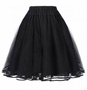 Yafex Belle Poque Femme Jupon Sous Robe/Jupe Court Vintage Années 50 en Tulle BP177 de la marque Yafex image 0 produit